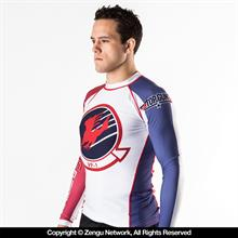 Fusion Fightgear TOP GUN Rash Guard -...